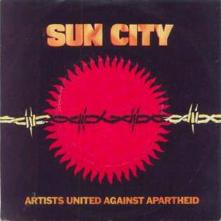 Sun City (song) 1985 single by Artists United Against Apartheid
