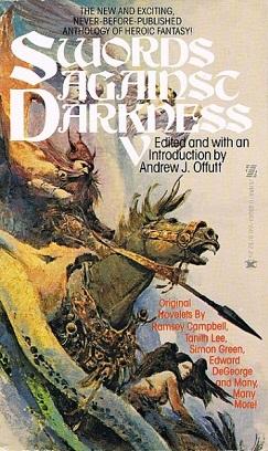 Swords Against Darkness V cover jacket