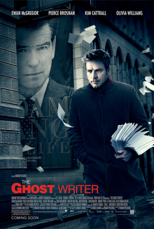 the ghost writer writer