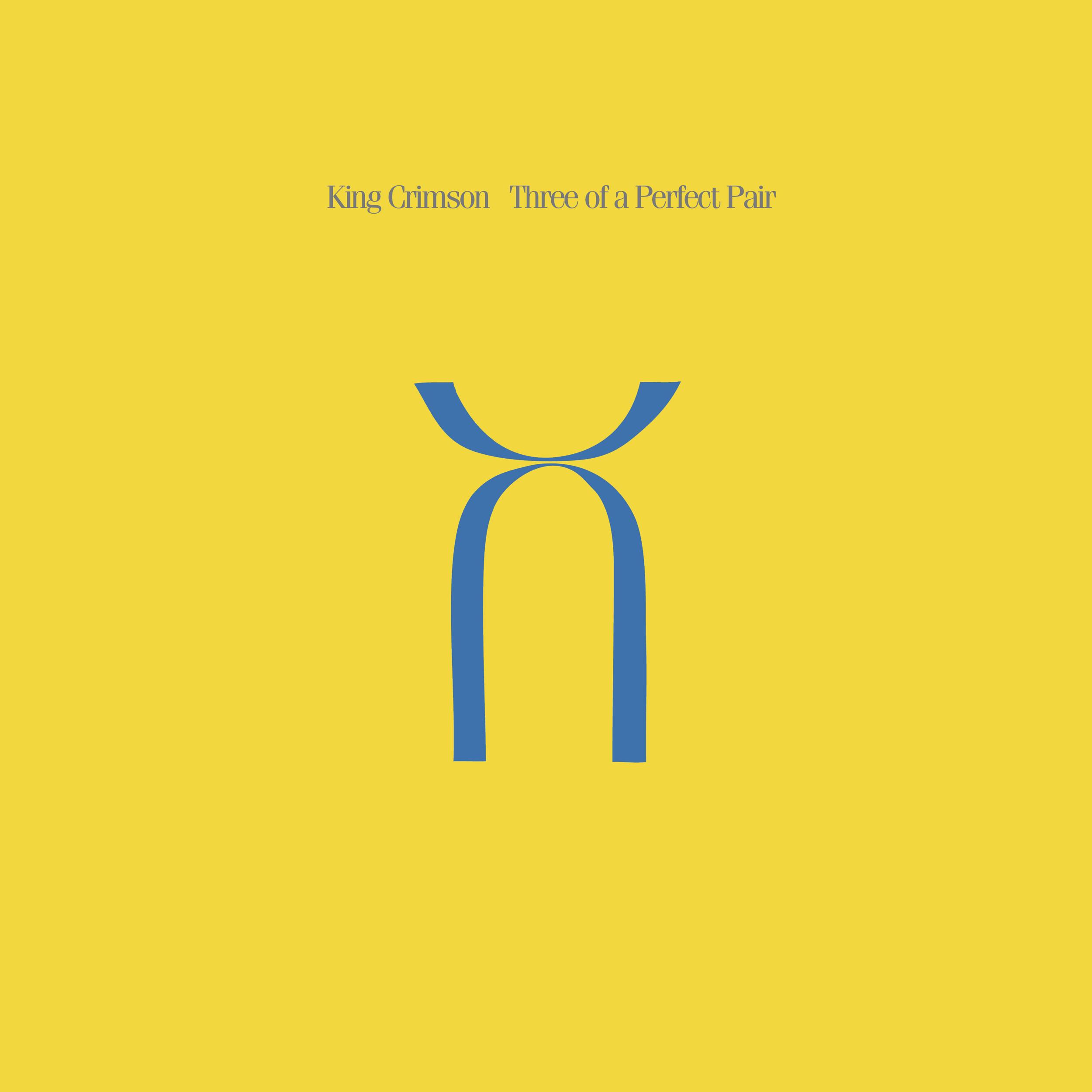 <i>Three of a Perfect Pair</i> 1984 studio album by King Crimson