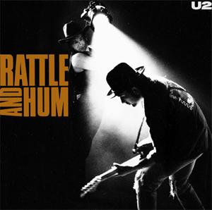 <i>Rattle and Hum</i> 1988 studio album with live tracks by U2