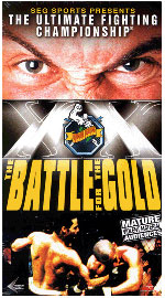 A poster or logo for UFC 20: Battle for the Gold.