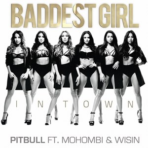 Pitbull featuring Mohombi and Wisin — Baddest Girl in Town (studio acapella)