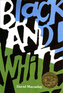 <i>Black and White</i> (picture book) book by David Macaulay