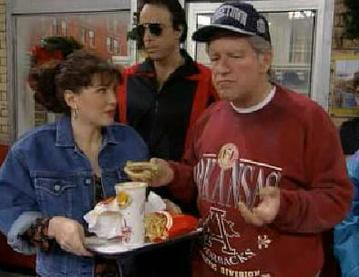 Hartman appears as Bill Clinton on an episode of Saturday Night Live. In this episode, Clinton visits a McDonald's restaurant, in one of Hartman's most famous sketches. ClintonHartman.jpg