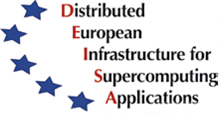 Distributed European Infrastructure for Supercomputing Applications Logo