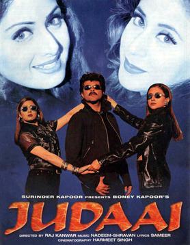 Judaai (1997) Full Hindi Movie 720p HDRip 700MB Download