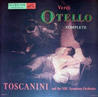 Otello (Toscanini recording) album