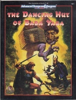 The Dancing Hut of Baba Yaga (D&D module).jpg