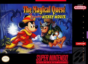 Image result for Disney Starring Mickey Snes