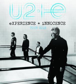 U2-13 Irish Rock Band Dublin Poster Music Star Photo Bono Edge Black White