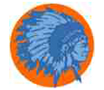 The Warrior, University High's  mascot as it appeared pre-controversy.
