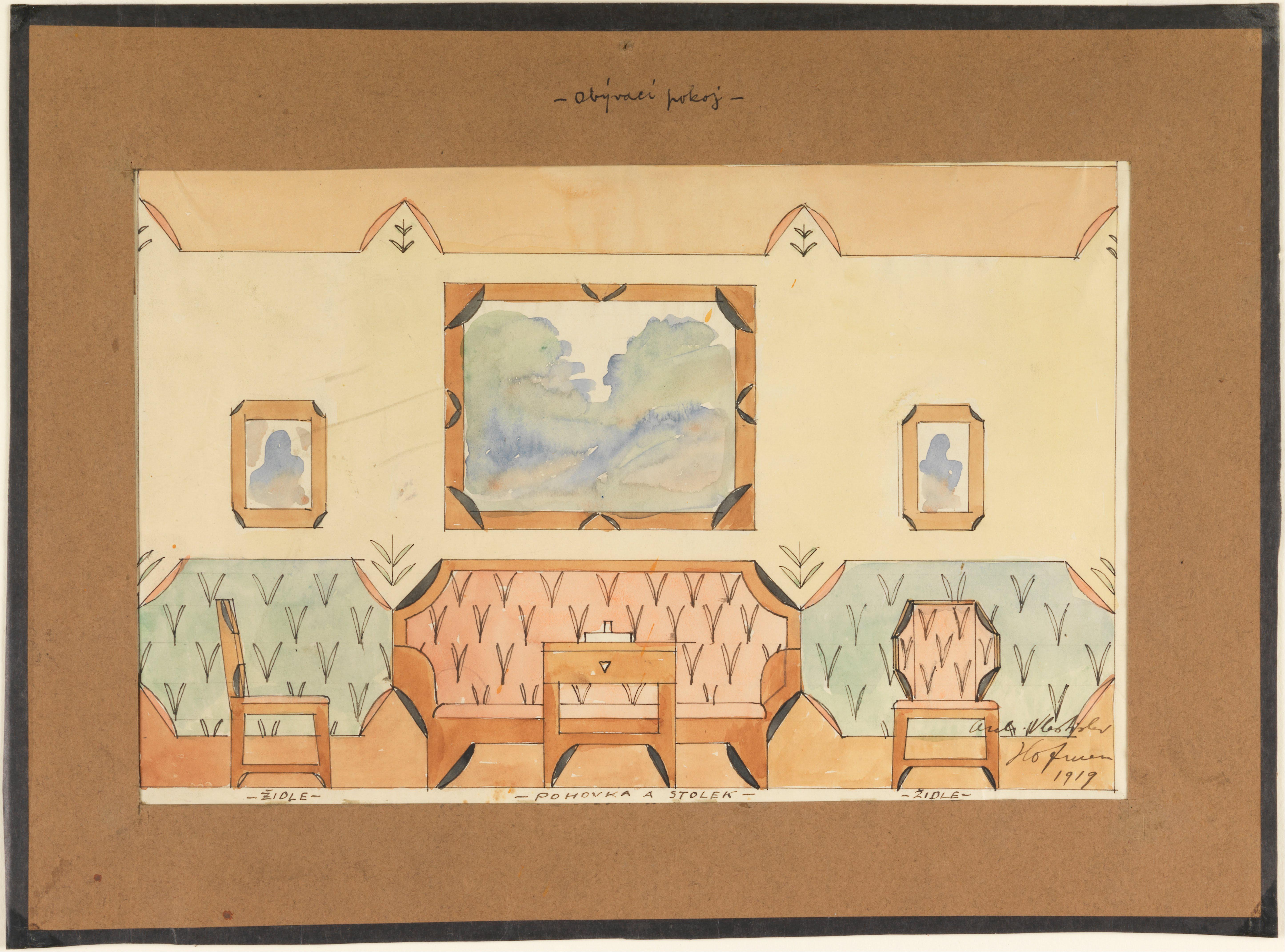 File Vlastislav Hofman Elevation Design For A Sitting
