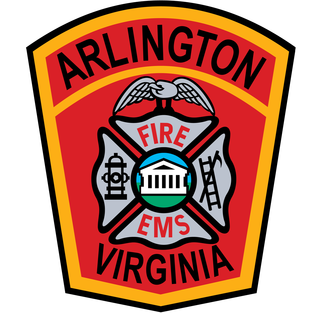 A county wide fire district in Arlington County, Virginia