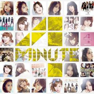 <i>Best of 4Minute</i> 2012 compilation album by 4Minute