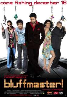 <i>Bluffmaster!</i> 2005 Indian film directed by Rohan Sippy