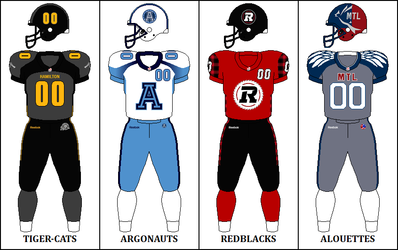 East Division Signature Uniforms CFL Signature East Jerseys 2014.png