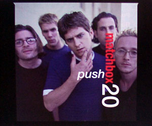 Push (Matchbox Twenty song) 1997 single by Matchbox Twenty