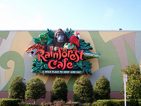 Rainforest Cafe Grapevine Tx Menu Prices