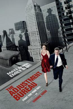 The Adjustment Bureau (2011) movie poster