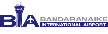 Logo of the Bandaranaike International Airport