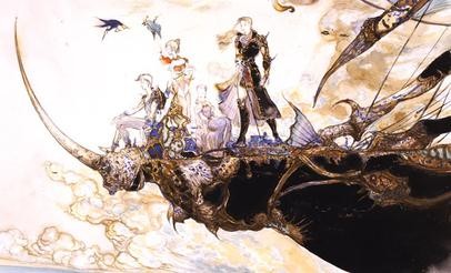 Final Fantasy V concept art
