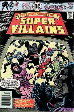 Cover to Secret Society of Super-Villains #3. ...