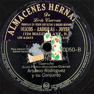 Sandunguera (bolero) 1943 single by Arsenio Rodríguez