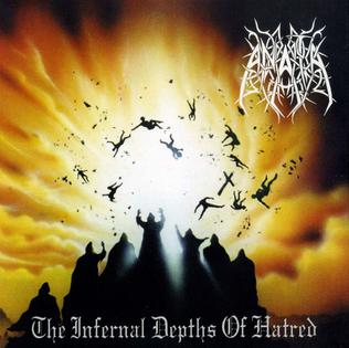 <i>The Infernal Depths of Hatred</i> 1998 studio album by Anata
