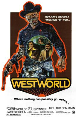 Film poster for Westworld - Copyright 1973, Me...