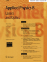 <i>Applied Physics B</i> Academic journal