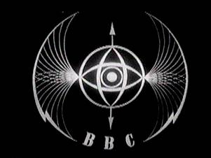 "The ""Television Symbol"", known informally as the ""Bats Wings"" was the first BBC Television Service ident. It was created by Abram Games and was used from 1953 to 1960.[1]"