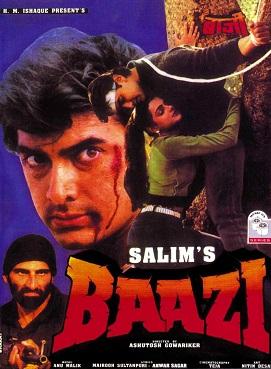 Baazi (1995) SL DM - Aamir Khan, Mamta Kulkarni, Raza Murad, Paresh Rawal, Avtar Gill, Mushtaq Khan, Kulbhushan Kharbanda, Asrani, Kunika, Mukesh Rishi, Satish Shah, Ashish Vidyarthi, Puneet Issar, Haidar Ali