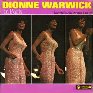 <i>Dionne Warwick in Paris</i> 1966 live album by Dionne Warwick