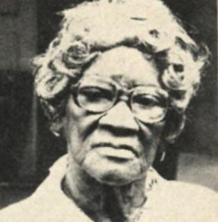 Edith L. Williams US Virgin Islands educator and suffragist