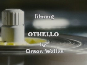 <i>Filming Othello</i>