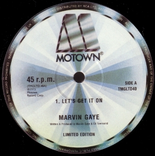 Lets Get It On (song) 2005 single by Marvin Gaye