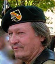 Ted Sampley Activist for U.S. prisoners of war/missing in action after Vietnam War