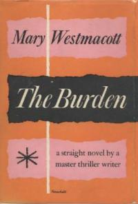 The Burden First Edition Cover 1956.jpg
