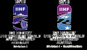 2016 IIHF World Womens U18 Championship – Division I