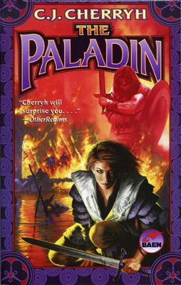 Book cover, The Paladin (2002 re-issue) by C. ...
