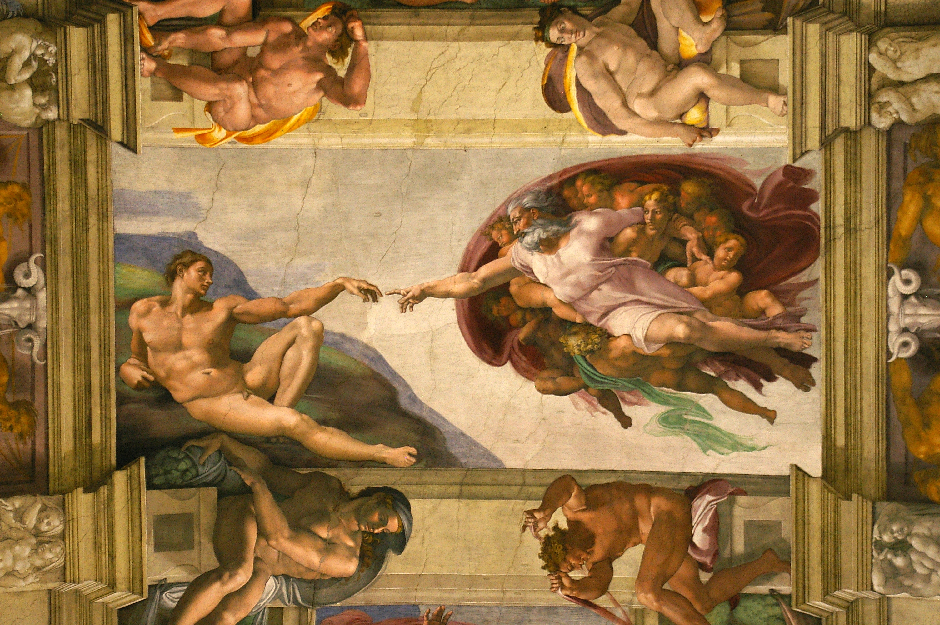 File:Creation of Adam Sistine Chapel.jpg - Wikipedia