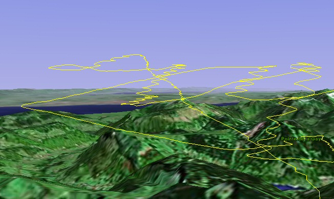 File:GPS track of paraglider thermal flying jpg - Wikipedia