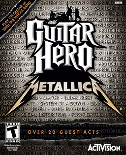 <i>Guitar Hero: Metallica</i> video game