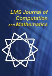 <i>LMS Journal of Computation and Mathematics</i> Academic journal
