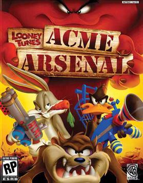 Looney toon ACME Arsenal Looney_Tunes_-_Acme_Arsenal_Coverart