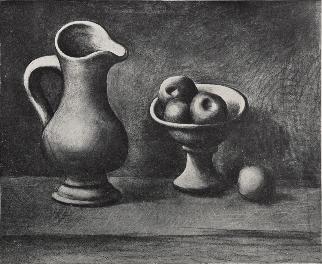 File:Pablo Picasso, c.1919, still-life with a pitcher and apples ...