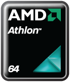 Athlon 64 microprocessor produced by AMD