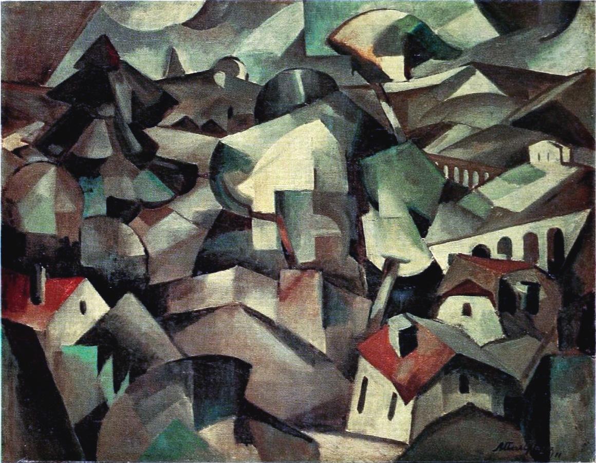 filealbert gleizes 1911 paysage landscape oil on