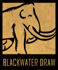 Blackwater Draw Dry stream channel in New Mexico, US